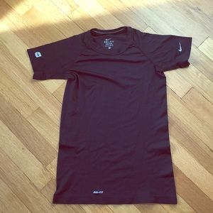 EUC women's Nike Running Dri-Fit shirt